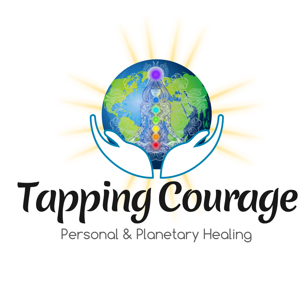 Tapping Courage Logo
